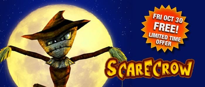 Scarecrow Free Oct 30th!