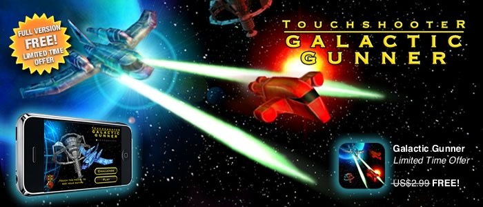 Galactic Gunner Free This Friday!