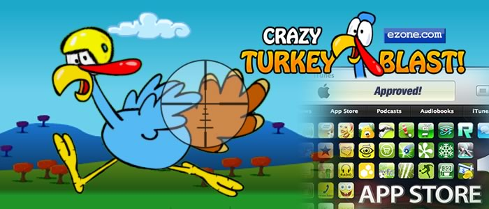 Crazy Turkey Blast Approved!
