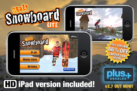 Crazy Snowboard HD Lite