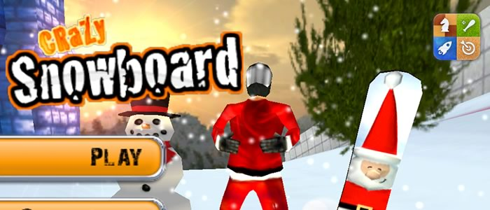 Crazy Snowboard 2.8 Holiday Update Out Now!