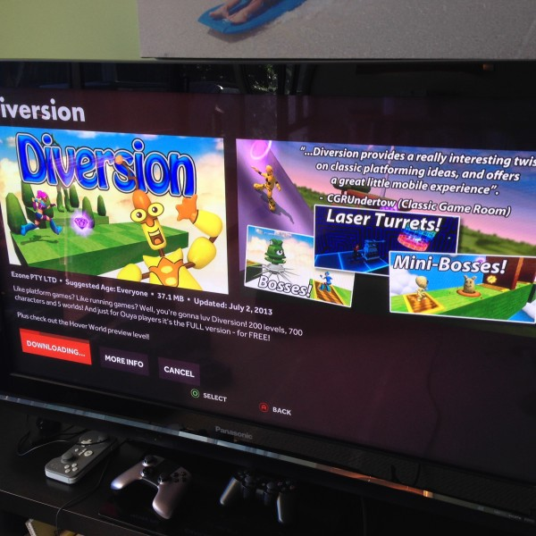 Diversion OUYA