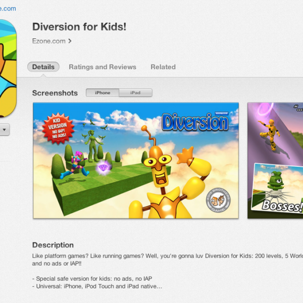 Diversion for Kids