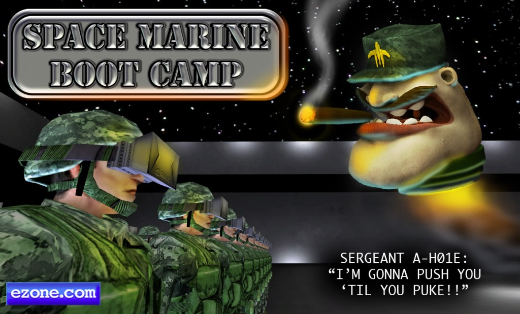 """Space Marine Boot Camp"" Entered in VR Jam"